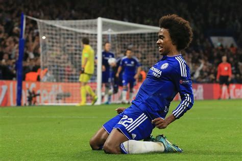 WILLIAN: Chelsea expect bids for him this summer and are ...