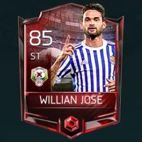 Willian José FIFA Mobile 18 Matchups Player