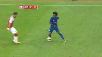 Willian vs Arsenal  Pre Season  22/07/2017 HD 1080i   YouTube