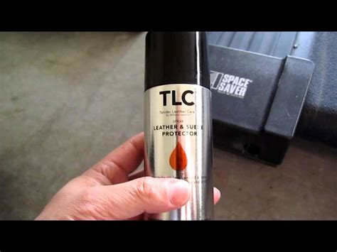 Wilson Leather TLC spray: leather and suede protector demo ...