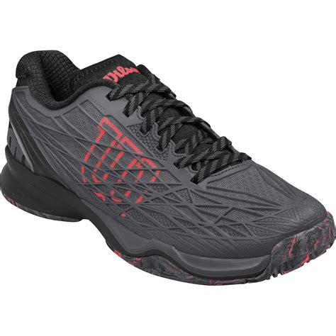 Wilson Mens Kaos Tennis Shoes   Ebony Black   Tennisnuts.com