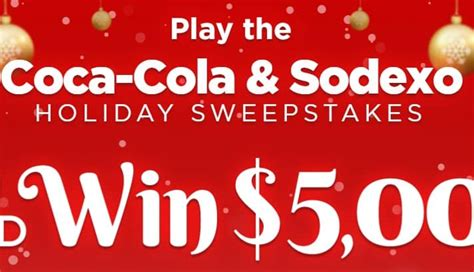 Win ,000 cash in the Coca Cola Holiday Sweepstakes ...