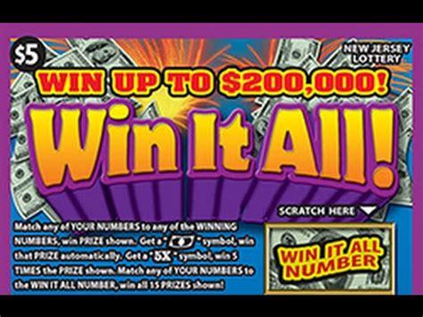 Win It All Instant Lottery Ticket Winner #1   YouTube