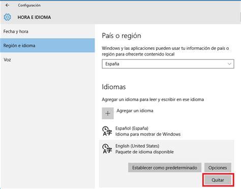 Windows 10 | Cambio de idioma en perfil nuevo   Microsoft ...
