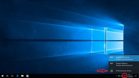 Windows 10   Como cambio el idioma de mi teclado a español ...