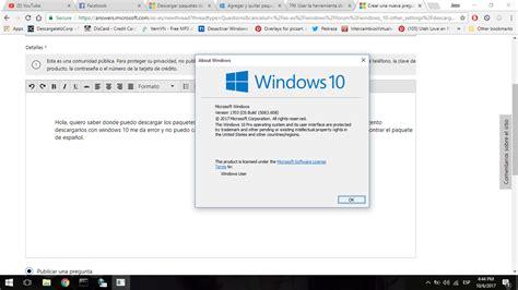 Windows 10 » Descargar paquetes de idioma manualmente ...