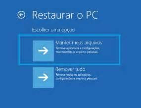 Windows 10   Erro ao Restaurar   Microsoft Community