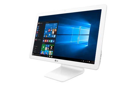 Windows 10 Home, All In One LG Quad Core con pantalla de 22