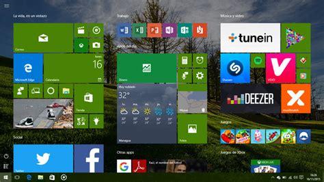 Windows 10: Menu inicio a pantalla completa borroso ...
