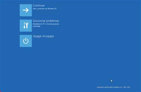 Windows 10   No se muestra correctamente Pantalla inicio ...
