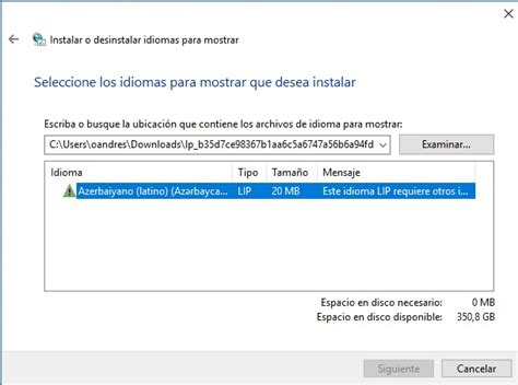 Windows 10   Problema con paquete de idioma Windows 10 ...