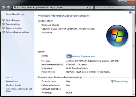 Windows 7 64bit shows 3.73GB usable memory with 8GB ...