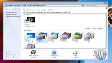 Windows 7   Change Desktop Background   YouTube