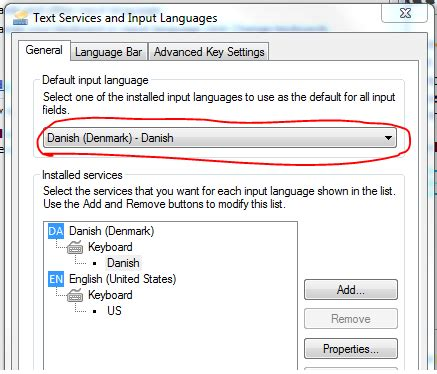 Windows 7 keeps changing my language keyboard  settings ...