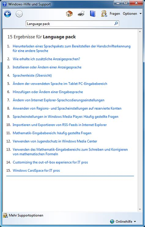 Windows 7 Language Packs   Windows 7 Help Forums