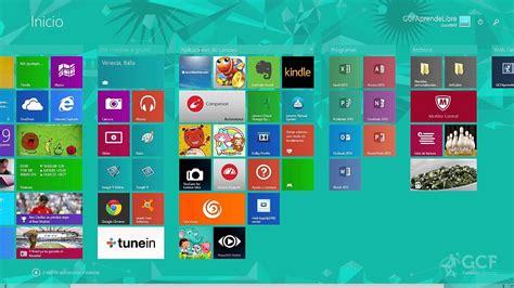 Windows 8: Pantalla de inicio y escritorio   YouTube