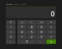 Windows Calculator   Wikipedia