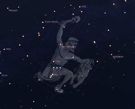 Winter constellations — Astronoo