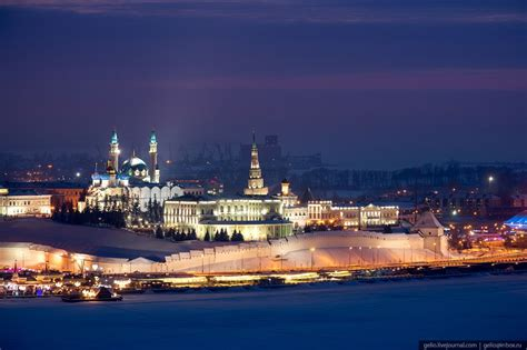 Winter in Kazan – the view from above · Russia Travel Blog