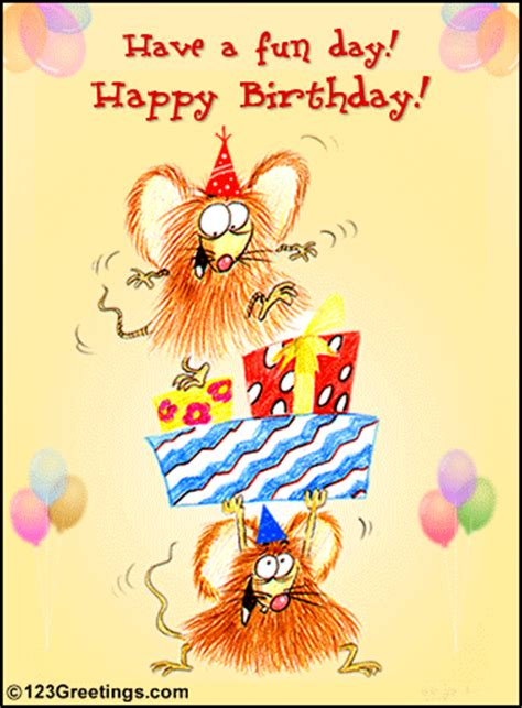 Wish A Fun Birthday! Free Funny Birthday Wishes eCards ...