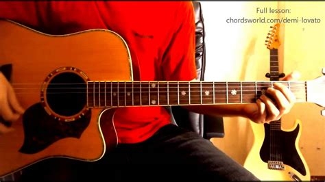 Without The Love Chords  Demi Lovato  ChordsWorld.com ...