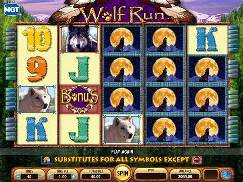 Wolf Run  Slot Machine   Play Free Online Game   Slotu.com