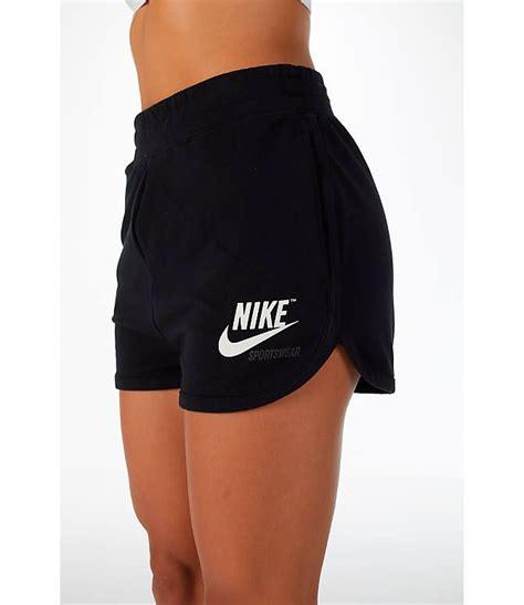 Women s Nike Sportswear Archive Training Shorts| Finish ...