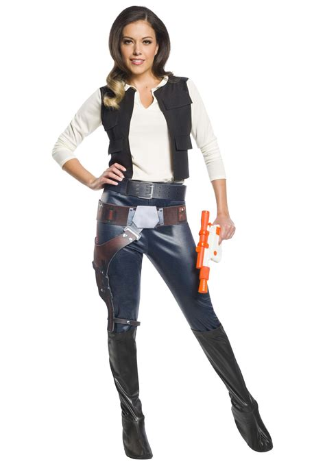 Womens Han Solo Costume Star Wars Character