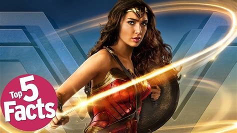 Wonder Woman  2017 : Top 5 Facts!   YouTube