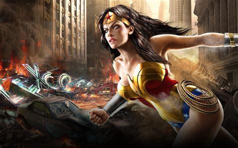 Wonder Woman dc universe online video game Desktop ...
