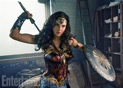 Wonder Woman Movie Images Feature Gal Gadot | Collider