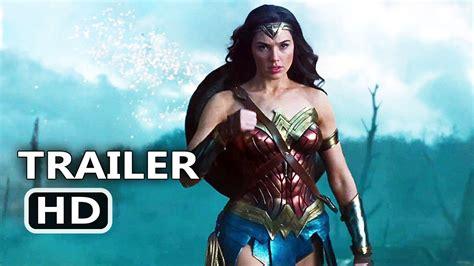 WONDER WOMAN Official Trailer # 2  2017  Gal Gadot Action ...