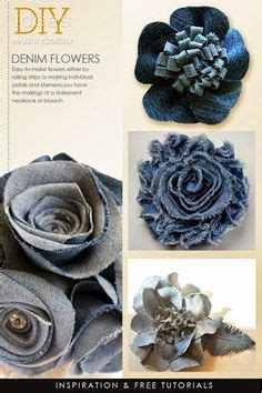 Wonderful DIY Beautiful Rose flower Out of Jeans ...