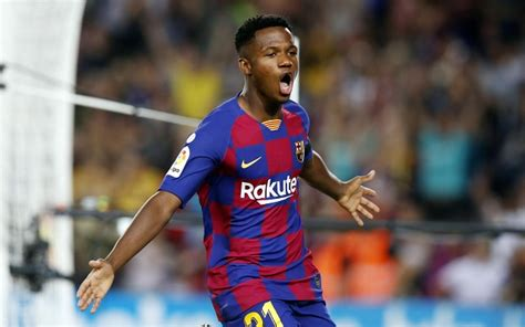 Wonderkid Fati: from African suburb to Barcelona s Camp Nou