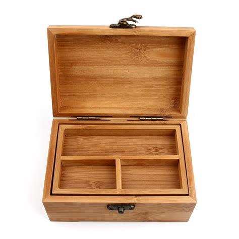 Wooden Box Vintage Storage Box Wood Box Jewelry Multiple ...