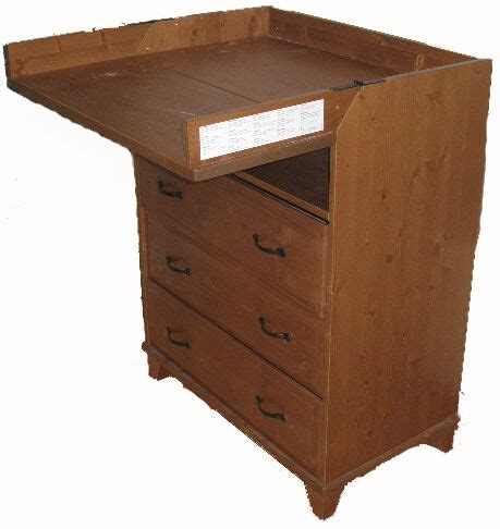 Wooden leksvik Ikea chest of draws with change table tall ...