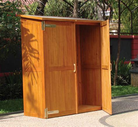 Wooden Outdoor Storage Cabinets with Doors | Outdoor ...