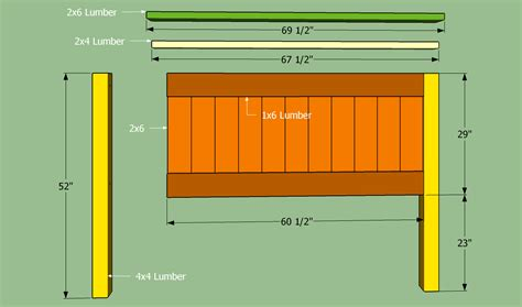 Woodwork Plans For Queen Size Headboard PDF Plans