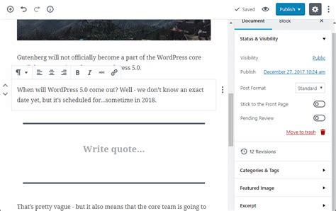 Wordpress 5.0 Novedades para Crear tu Página Web | Openinnova
