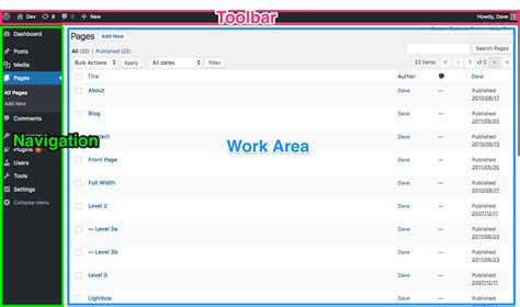 WordPress Admin Area: What is it? How do I use it?   Learn ...