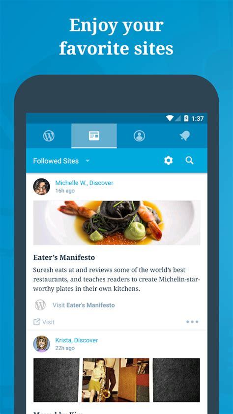 WordPress   Aplicaciones de Android en Google Play