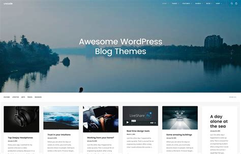 Wordpress Blog Templates | shatterlion.info