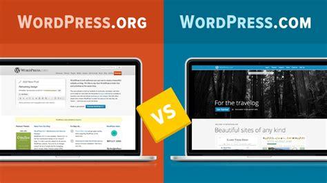 WordPress.com vs. WordPress.org   YouTube
