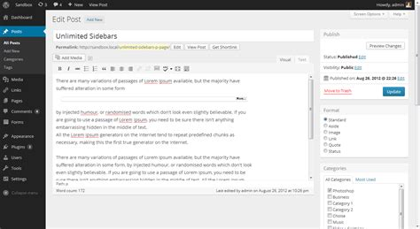 WordPress Demo Site » Try WordPress without installing it