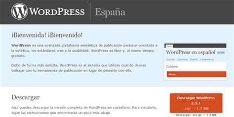 Wordpress en Español Oficial   Frogx Three