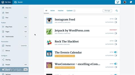 WordPress for Desktop Download  2020 Latest  for Windows ...