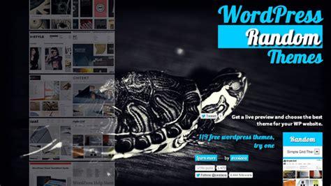 WordPress Random Themes en español | Tema de wordpress ...