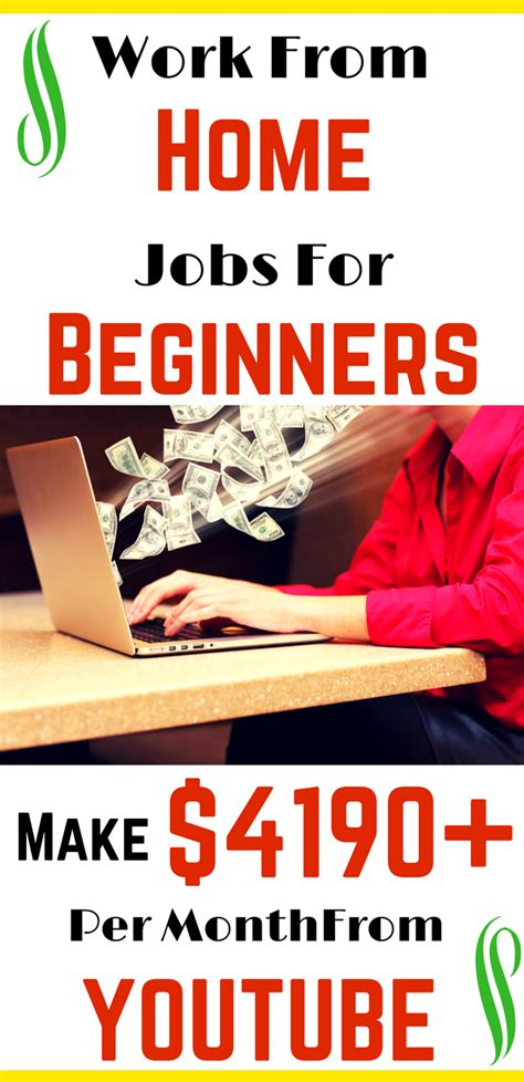 Work From Home Jobs For Beginners – Solid way to Make ...
