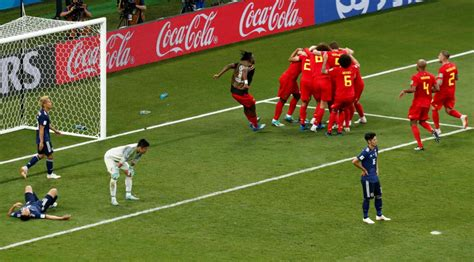 World Cup Japan vs Belgium Match: A counter attack that ...