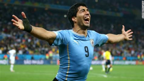 World Cup: Luis Suarez spurs Uruguay to win against ...